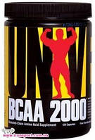 Аминокислоты BCAA 2000 (120 кап.) Universal Nutrition