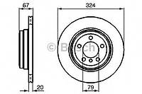 Гальмівний диск bmw e65 730d, 730i, 735i 2002- r (производство Bosch ), код запчасти: 0986479004