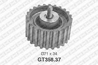 Натяжной ролик, ремень ГРМ Iveco 500388688 (производство NTN-SNR ), код запчасти: GT358.37