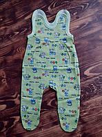 Ползунки кулир  для новорожденных девочек 56 см, 62 см, 68 см