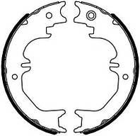 Колодки гальмівні барабанні (производство Ferodo ), код запчасти: FSB4125