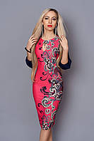 Модное женское платье в красивый принт