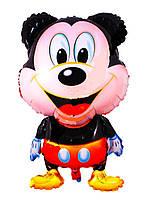 Фольгированный шарик фигура Микки Маус