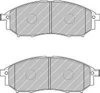 Колодки гальмівні дискові (производство Ferodo ), код запчасти: FDB1881