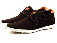 Мужские туфли спортивные CA3, коричневые, р. 44, фото 1
