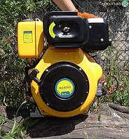 Дизельный двигатель с электростартом Sadko DE-410E (9 л.с., шпонка), фото 1