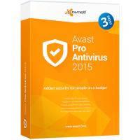 Программная продукция Avast Pro Antivirus 2015 3 ПК 1 год Base Box (4820153970298)