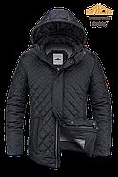 Куртка современная мужская демисезонная MOC 35-черная/красная