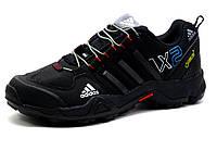 Кроссовки мужские Adidas Terrex AX2, кожаные, черные, р. 41, фото 1