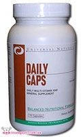 Daily Caps (75 таб.) Universal Nutrition