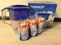 Фильтр-кувшин для воды Аквафор Океан+3 шт. картридж В106