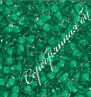 Бисер зеленый 38658 Чехия Preciosa