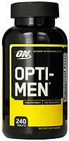 Витамины и минералы Optimum Nutrition Opti-Men (240 tabs)