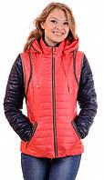 Женские демисезонные куртки-жилетки,размеры 44-50 ,D183