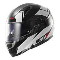 Шлем LS2 THUNDERBOLT  с подкачкой щек и очками размер L