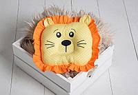 """Детская подушка-игрушка для новорожденных """"Leo"""""""