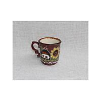 """Глиняная посуда """"Чашка для кофе Хуторок"""""""