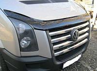 Накладки на решетку Volkswagen Crafter (Фольксваген Крафтер), (2006- 2011) Carmos. нерж,