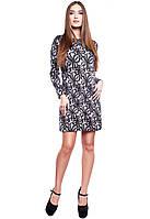 Платье с цветочным узором Эрика