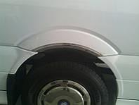Накладки на колесные арки Volkswagen Crafter (Фольксваген Крафтер), нерж.