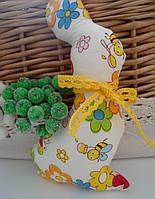 Элемент декора, текстильная игрушка, игольница