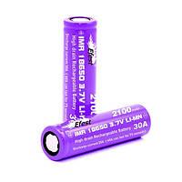 Высокотоковый аккумулятор Efest purple IMR 30Amp 18650 2100mAh flat top