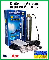 Глубинный насос ВОДОЛЕЙ БЦПЭУ 0,5-16У с внутренним кабелем