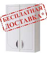 Шкаф навесной  для ванной 60-02 декор