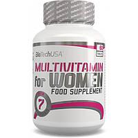 BioTech Мультивитаминный комплекс BioTech Multivitamin for Women, 60 таб.
