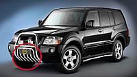 Защита поддона для Mitsubishi Pajero 2000г.в.-2007 г.в