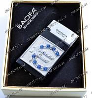 Подарочная зажигалка Baofa №3895, подарок другу курильщику, зажигалки на подарок