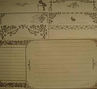 Набор бумаги для романтического письма