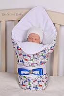 """Конверт-одеяло для новорожденных """"Тори"""""""