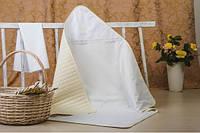Крестильный набор ИДЕЯ для младенцев крыжма и салфетка