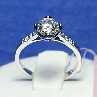 Женское кольцо из серебра с камнями ручной работы Литиция 4987-р