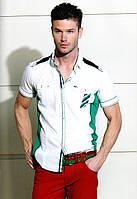 Белая модная рубашка Mondo (Турция)