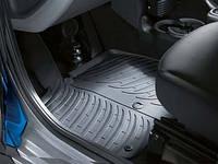 Резиновые ковры SMART с 2005- /2012- / компл 2шт./ цвет:черный / производитель SMART