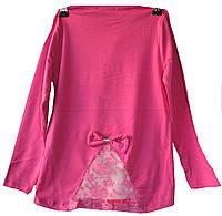 Туника на девочку розовая