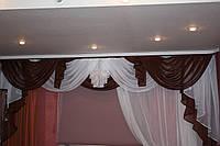 Ламбрикен  коричнево-белый