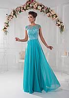 Непревзойдённое вечернее платье с интереснейшим вырезом на спинке и миниатюрным корсетом