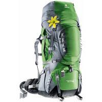 Рюкзак туристичний Deuter Aircontact PRO 65+15 SL emerald-titan (33833 2404) для пішого та гірського