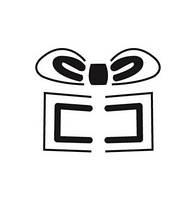 Фигурный дырокол (компостер) Подарок 3D 4 см