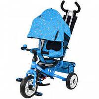 Трехколесный велосипед Profi Trike М 5363-1 Eva Foam Голубой
