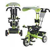 Детский трехколесный велосипед М 5362-3 Turbo Trike EVA Foam Зеленый