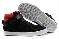 Мужские высокие кроссовки Adidas Adi-Rise Mid (адидас) черные