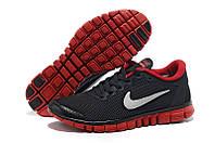 Мужские кроссовки Nike Free 3.0 v2 Black/Red/White