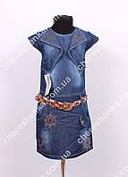 Детский джинсовый сарафан Miles 1131