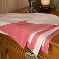 Детское полотенце с капюшоном 90х90 Жаклин для девочки от Guddini 010