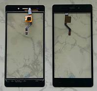 Doogee X5 тачскрін сенсор чорний оригінальний