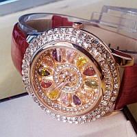 Женские часы с камнями Swarovski,№103